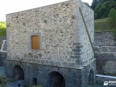 Selva de Irati - Puente del Pilar rutas senderismo segovia barranco de rio dulce castillo cuellar si